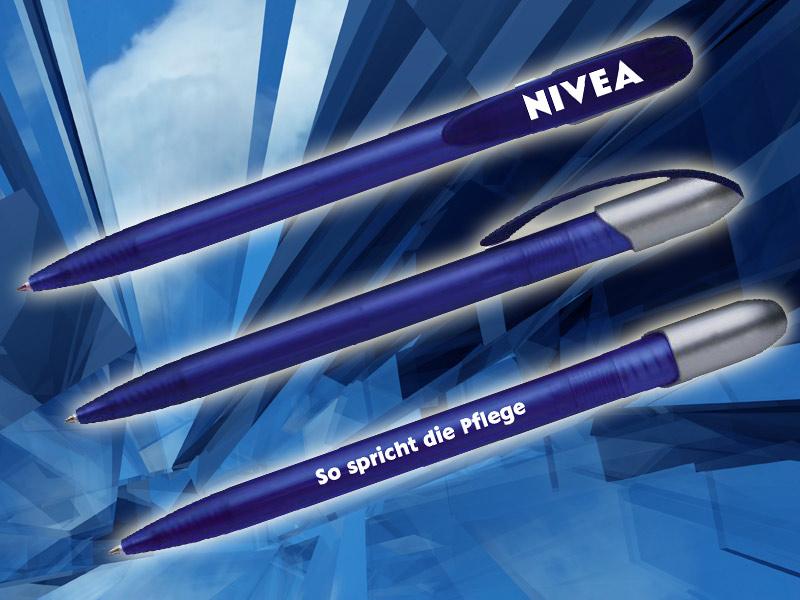 Werbeartikel Kugelschreiber für Nivea