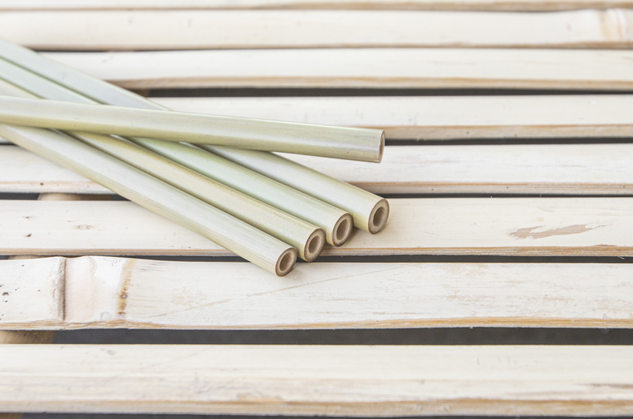 Bambus Strohhalm - nachhaltige Strohhalme