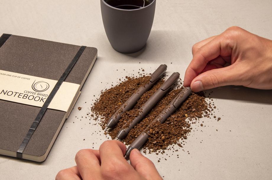 nachhaltige Werbeartikel Coffee Pen
