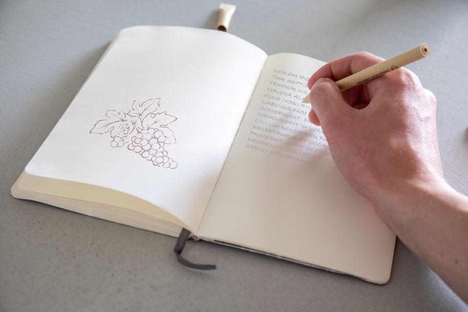 Papierkugelschreiber nachhaltiger Kugelschreiber
