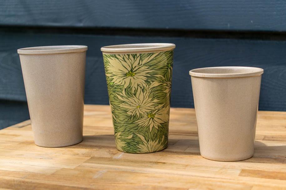 Reis-Kaffeebecher - nachhaltiger Kaffeebecher