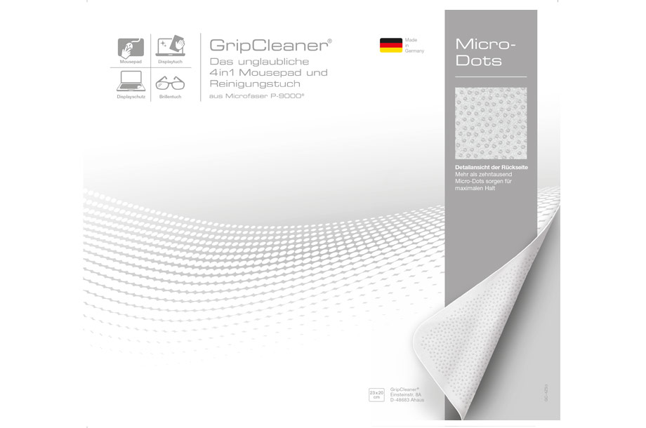 Microfaser Grip Cleaner 4 in 1