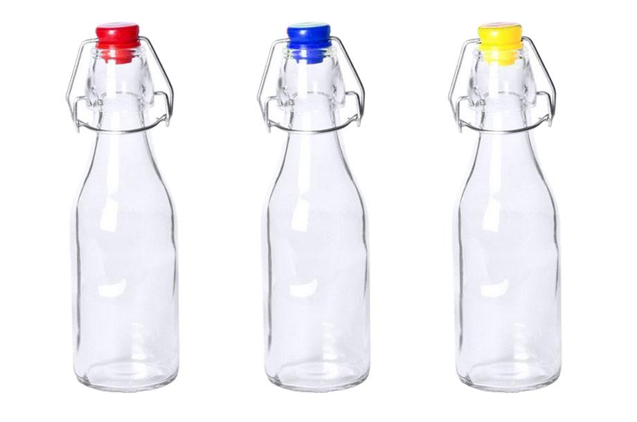 Trinkflasche aus Glas 260 ml