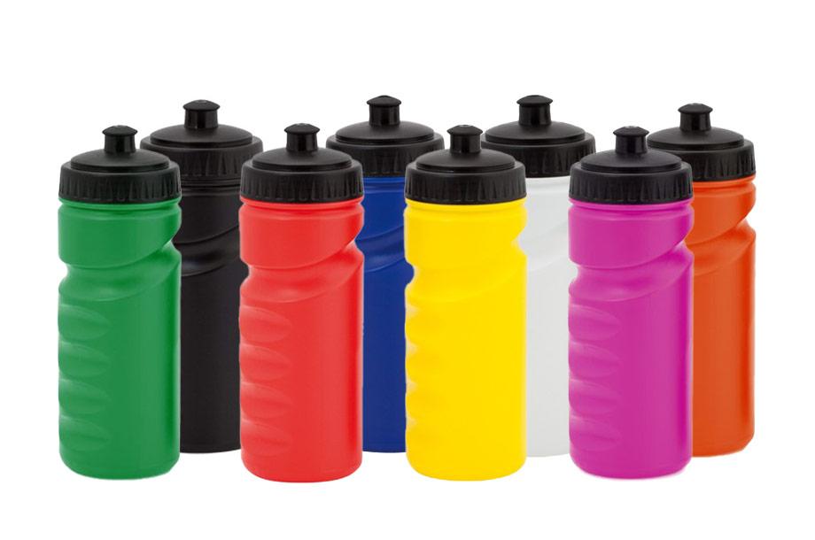 Trinkflasche aus PE mit 500 ml