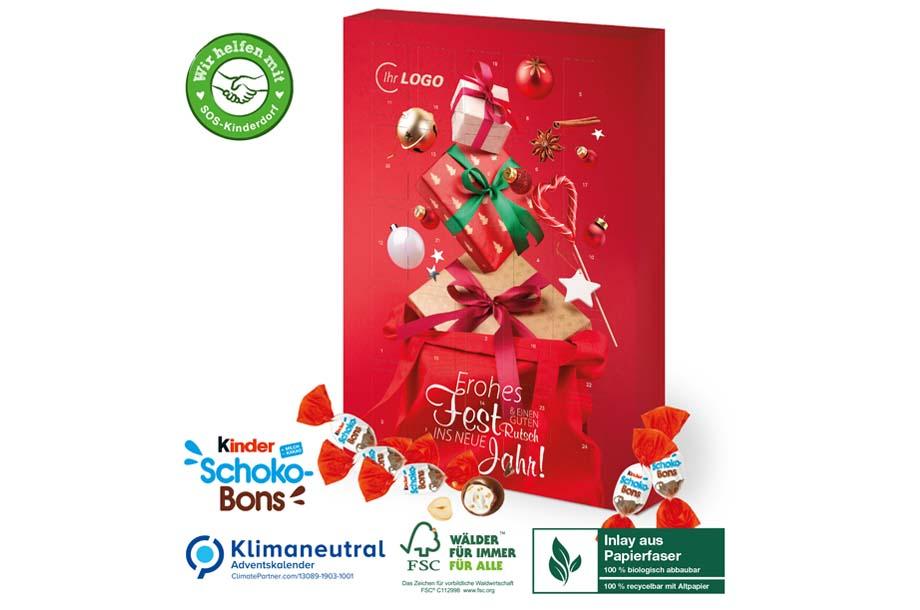 Kinder® Schoko-Bons-Adventskalender