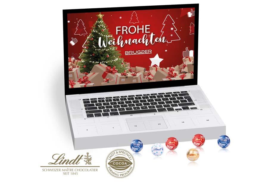 Lindt - Tisch-Adventskalender Gourmet Edition Laptop